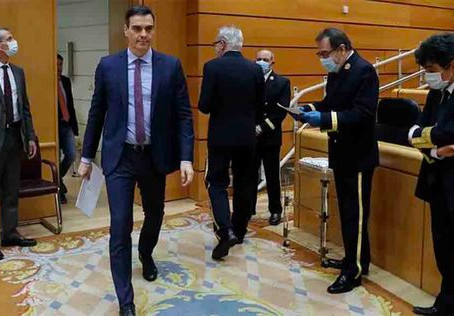 El Gobierno negocia la prórroga del estado de alarma con Cs y PNV