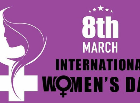 International Women's Day March 8th