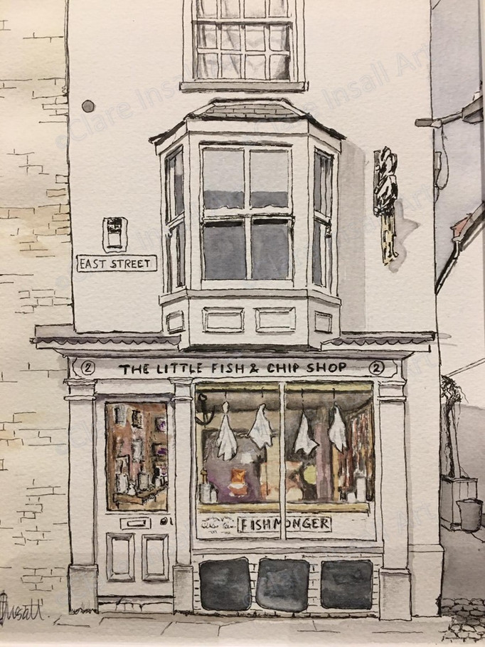 Little Fish and Chip Shop - SOLD