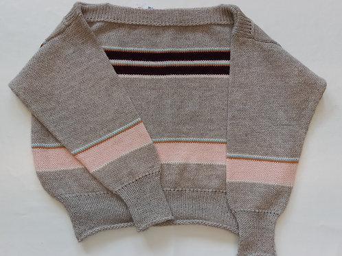 Girly genser med striper