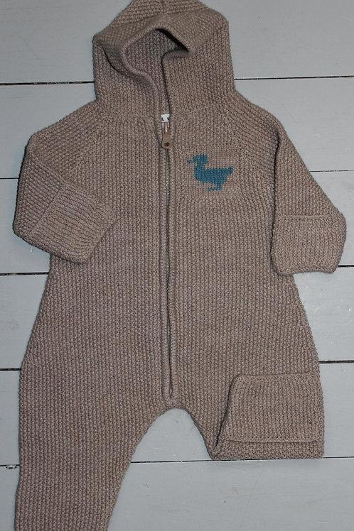 Hel dress til baby i merino