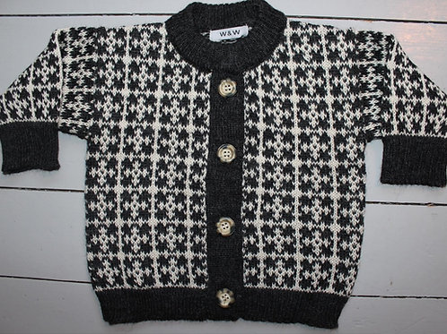 Mønstret jakke