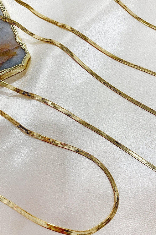 Bracha Skinny Monte Carlo Layering Necklace