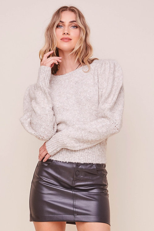ASTR Bexley Puff Sleeve Sweater