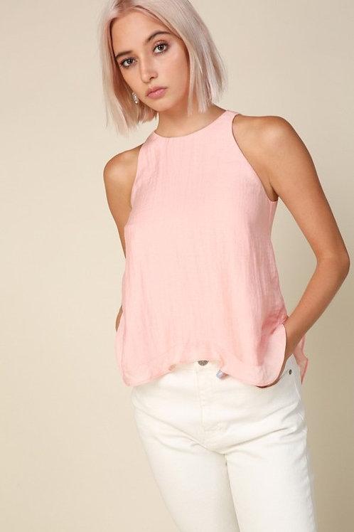 Line & Dot Pink Adriana Tank