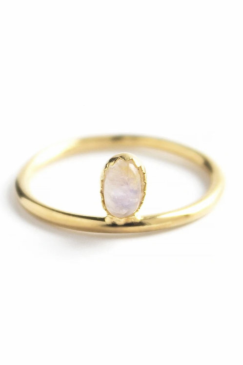 Mounia Moonstone Ring