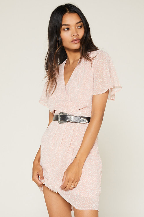 Sage The Label In This Moment Wrap Dress