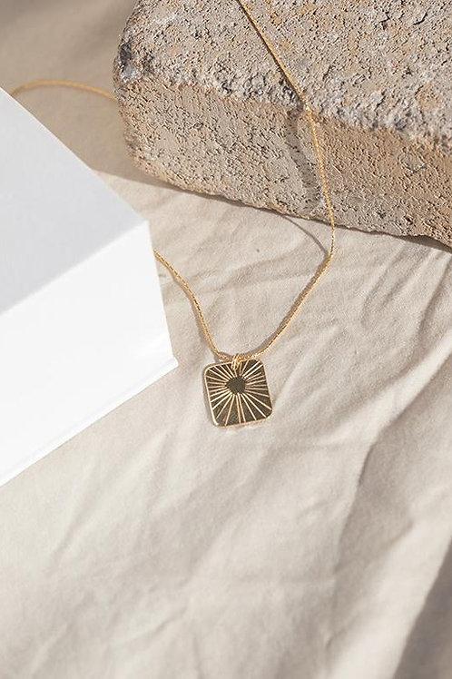 Paradigm Design Glow Rectangle Necklace