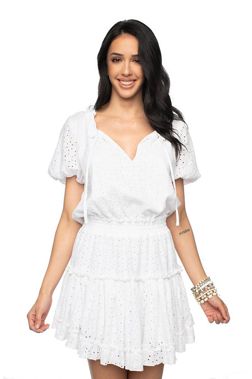 Buddy Love Eyelet Ray Dress