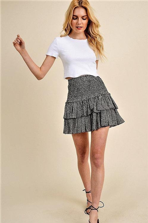 Talk That Talk Smocked Skirt