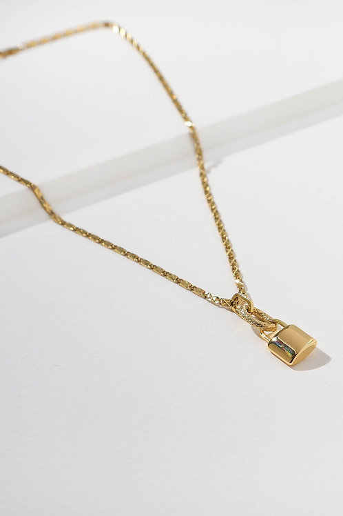 Vanessa Mooney The Lock Necklace