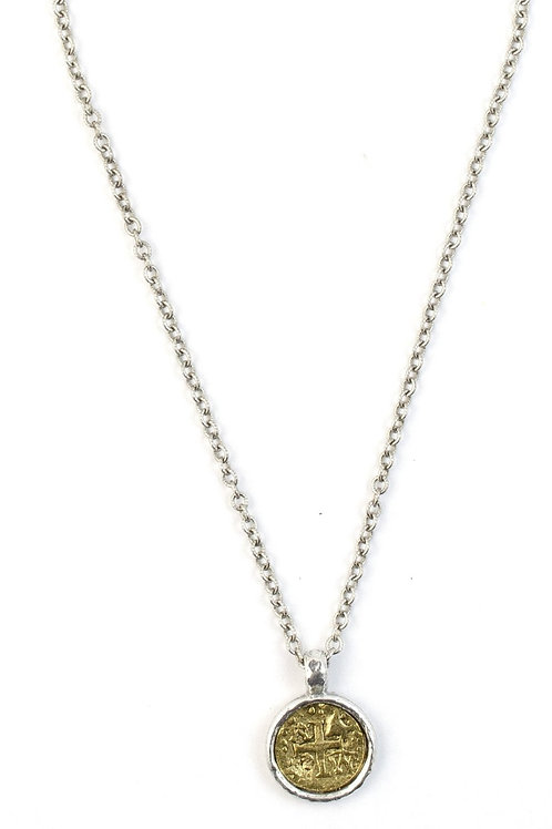Mercy Two Tone Necklace