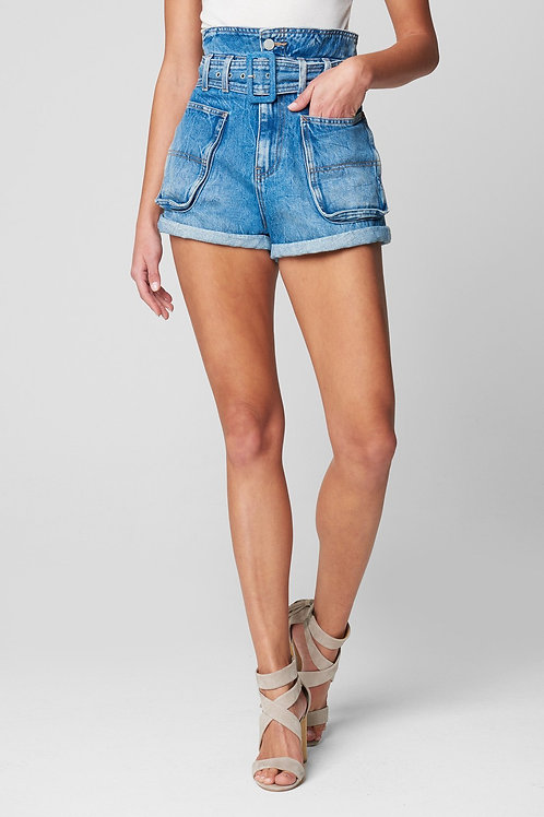Blank NYC Overboard Paper Bag Shorts