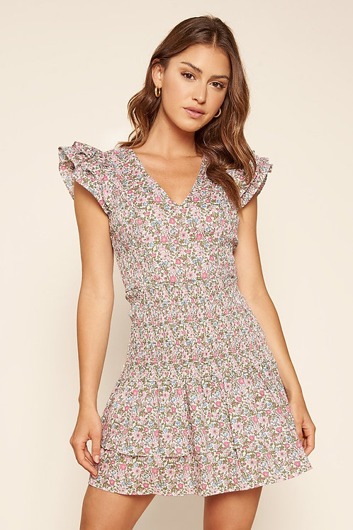 Mischa Smocked Waist Dress