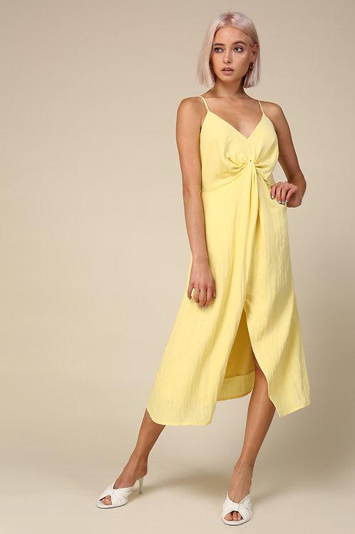 Line & Dot Lila Midi Dress