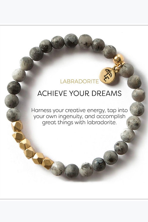 Achieve Your Dreams Small Labradorite Bracelet