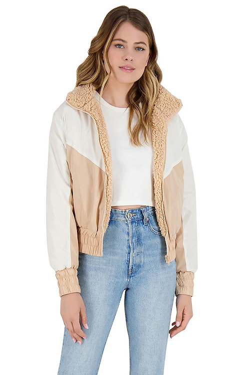 BB Dakota Ready Teddy Go Reversible Jacket