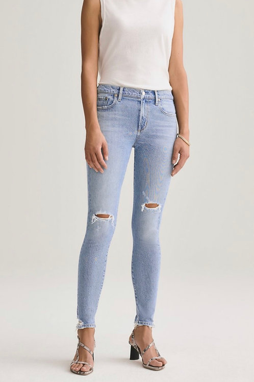 Agolde Sophie Mid Rise Skinny