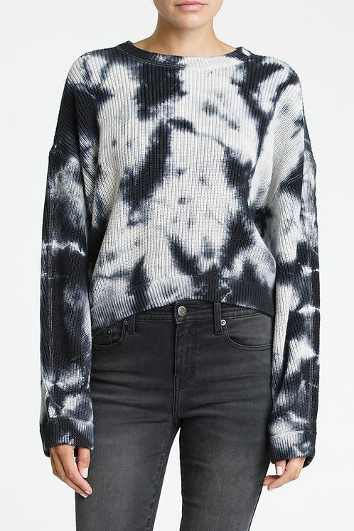 Pistola Eva Tie Dye Crop Sweater