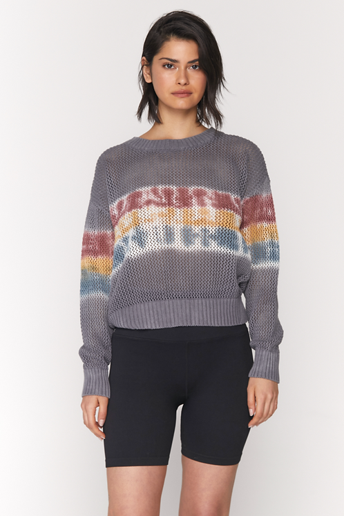 Spiritual Gangster Romy Mesh Sweater