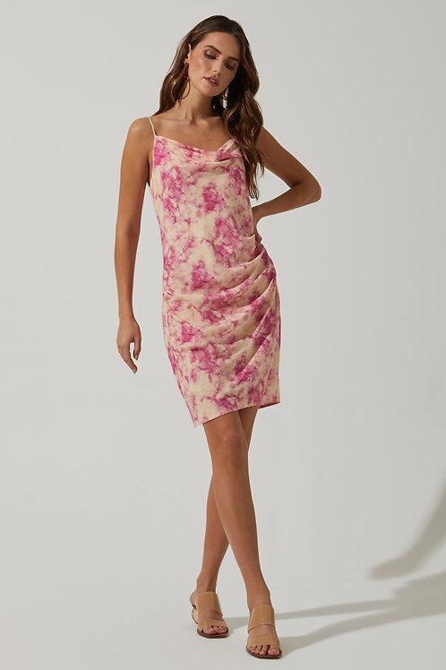 ASTR Plaza Tie Dye Dress