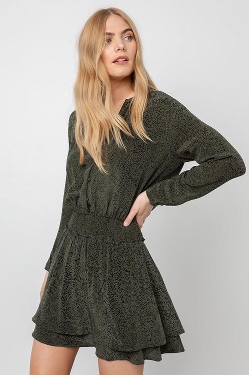 Rails Jasmine - Olive Speckled Dress