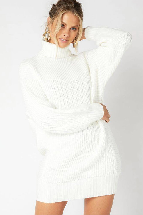 MinkPink Echoes Knit Sweater Dress