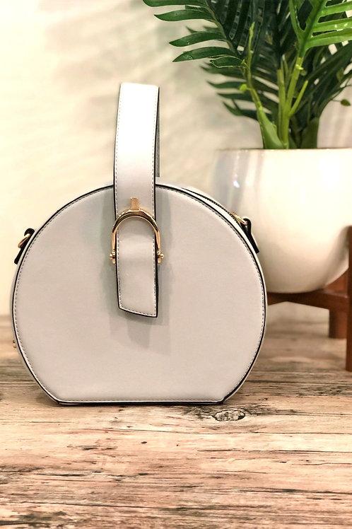 Grey Circle Bag