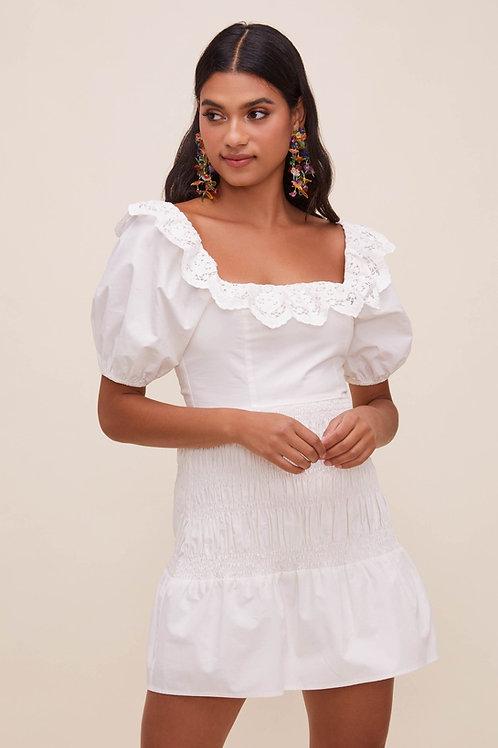ASTR Patina Puff Sleeve Dress