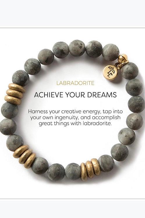 Achieve Your Dreams Labradorite Bracelet