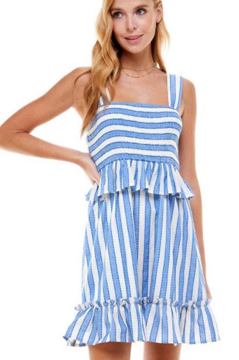 Up For It Stripe Dress