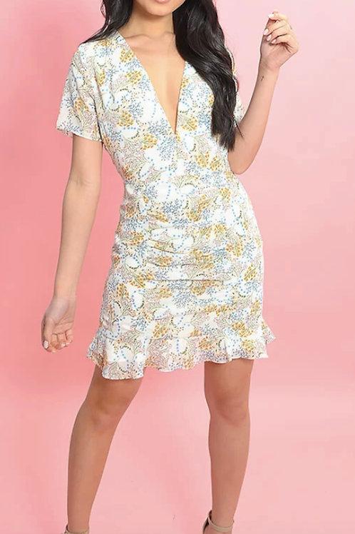 Ocean Muse Mini Dress
