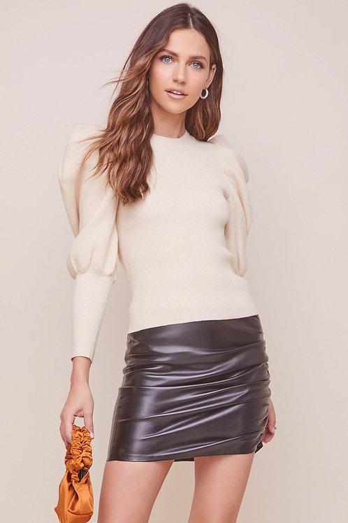 ASTR Elina Cream Sweater