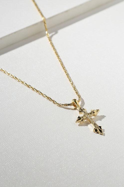 Vanessa Mooney The Anastasia Cross Necklace