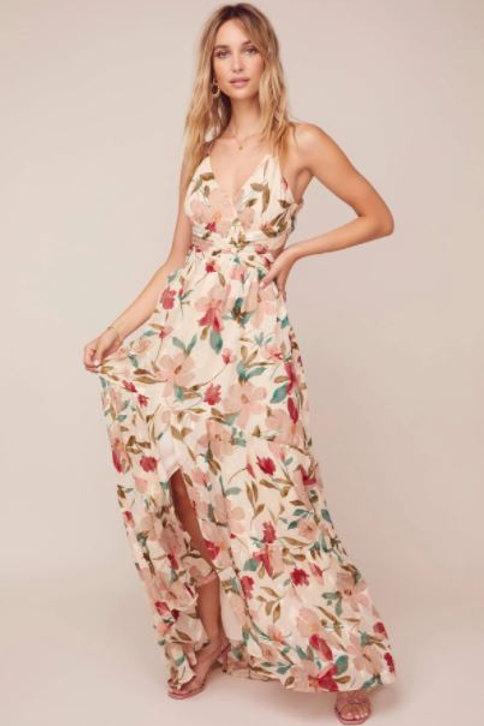 ASTR Frolic Maxi Dress