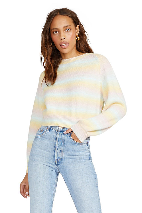 BB Dakota Crazy On You Cropped Sweater