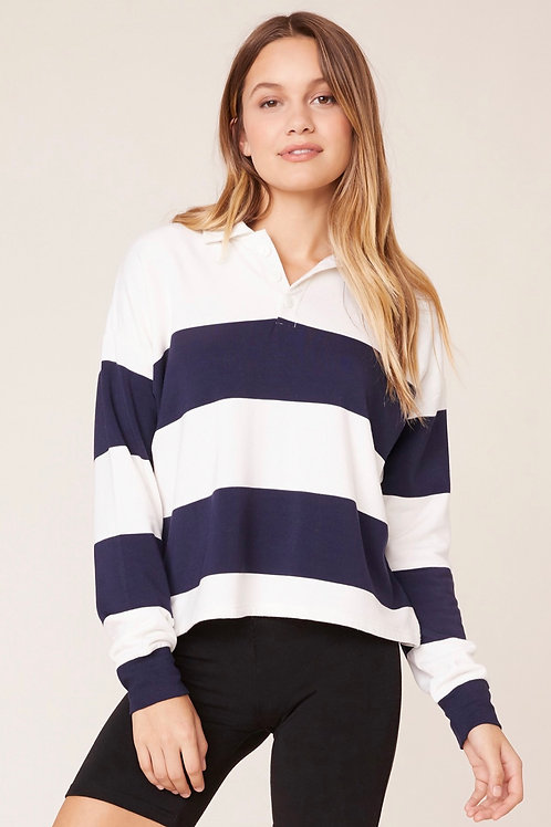 Off Duty by BB Dakota Rugby Stripe Tee