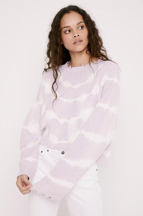 Pistola Eva Tie Dye Crop Sweater
