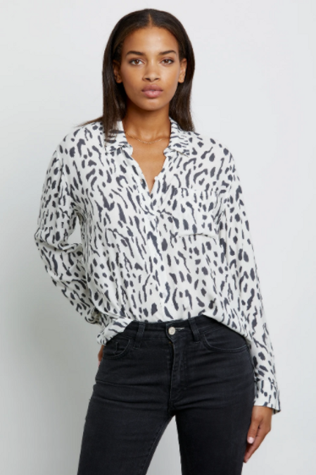 Rails Rocsi Button Up Top