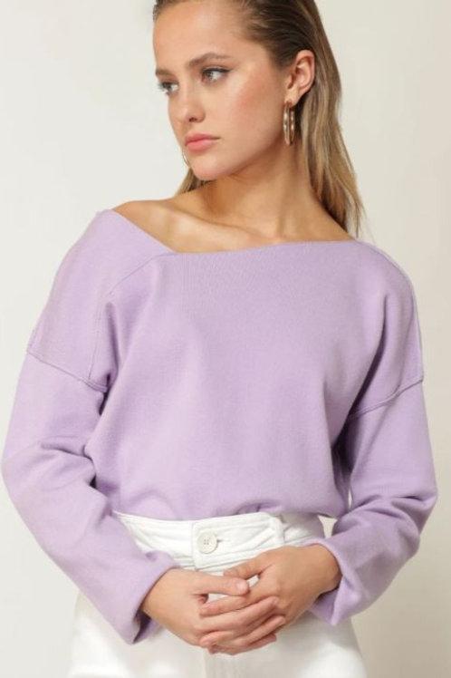 Line & Dot Favorite Off the Shoulder Sweater