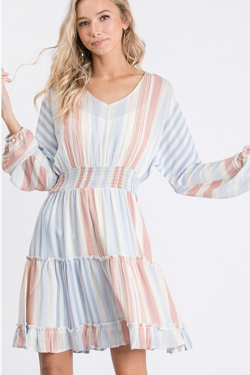 Hailey Summer Stripe Dress