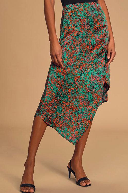 Lost + Wander Sparkler Midi Skirt