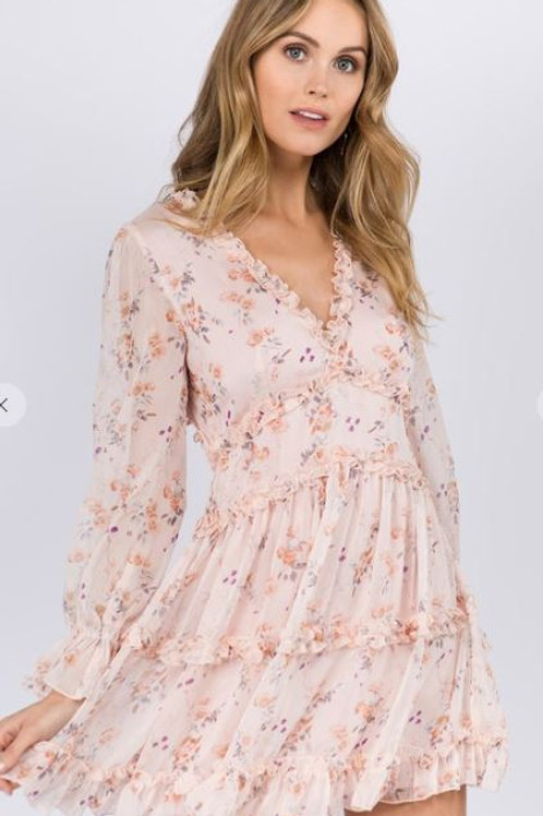 See You Coming Floral Dress