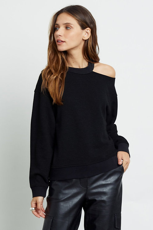 Rails Quincy Cut Out Sweater