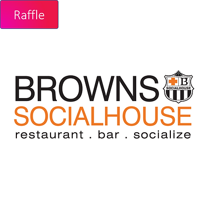 Raffle Ticket - $50 Brown's Social House Gift Card