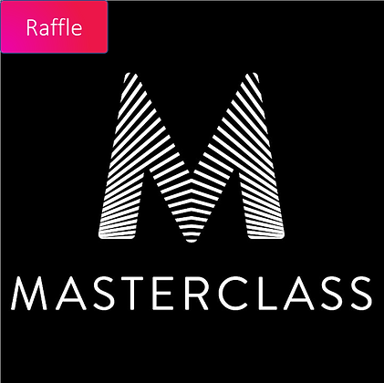 Raffle Ticket - Class of Choice by Masterclass