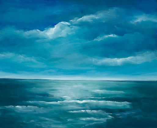 Emerald Ocean (medium print)