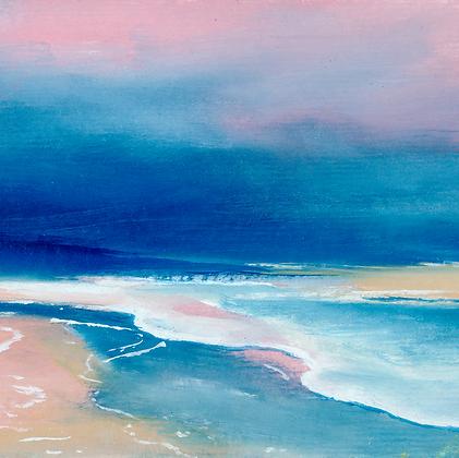 'May Tide' (Print) 10.5 x 10.5 cm