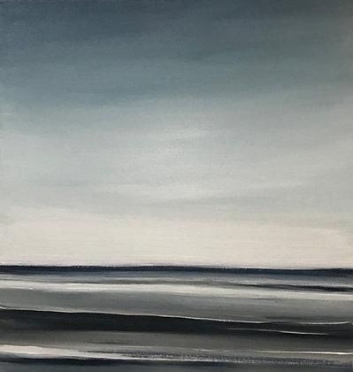 'Half Light' (Acrylic on canvas) 40 x 40 cm