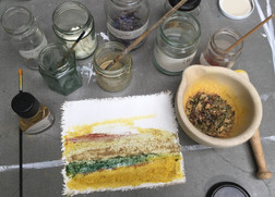 Buttercup + other pigments